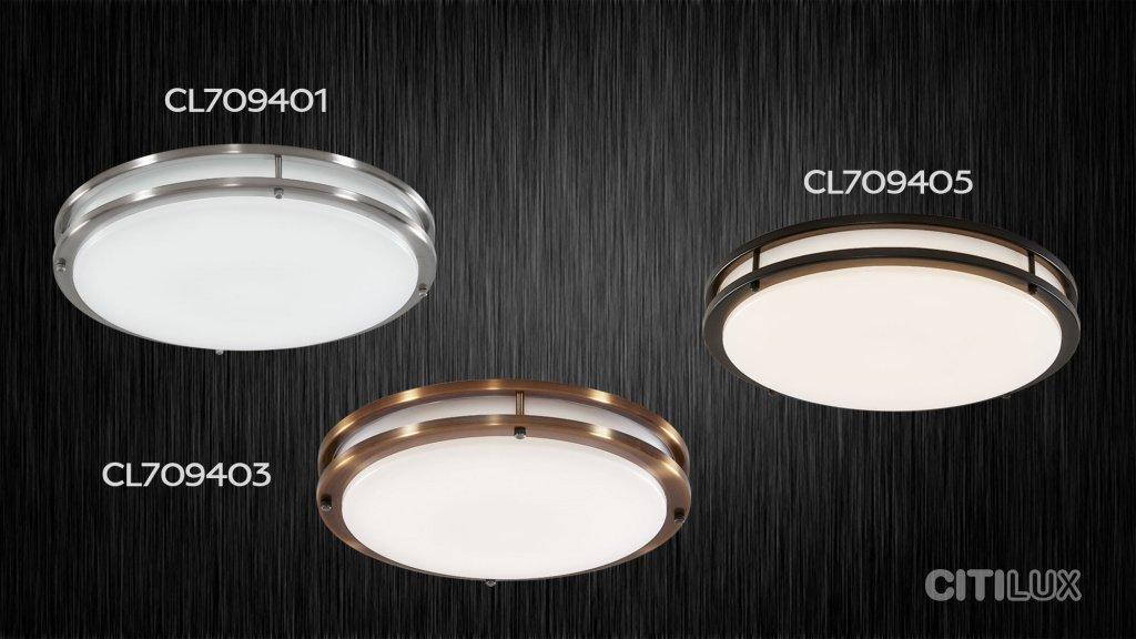 Светильники Citilux Дункан - 709401, 709403, 709405